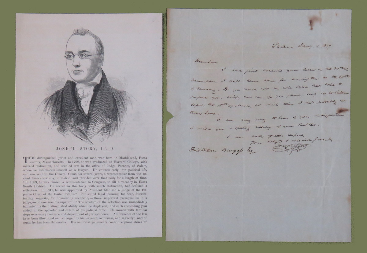 Historical Documents and Manuscript Letters
