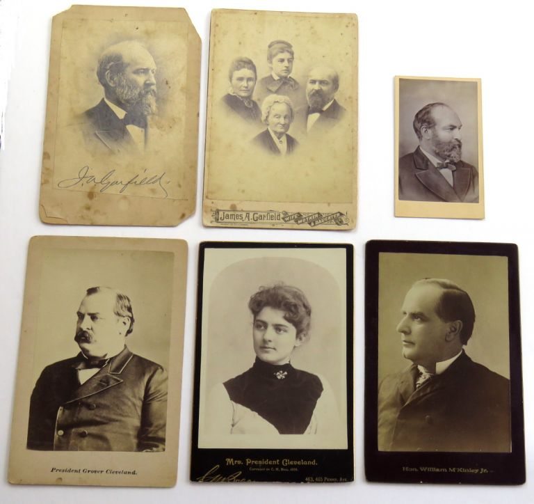 Period Photographs. James Garfield, et. al.