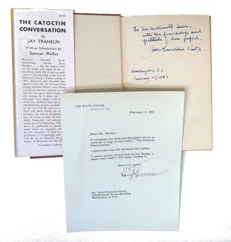 Typed Letter Signed / The Catoctin Conversation. Harry S. Truman.