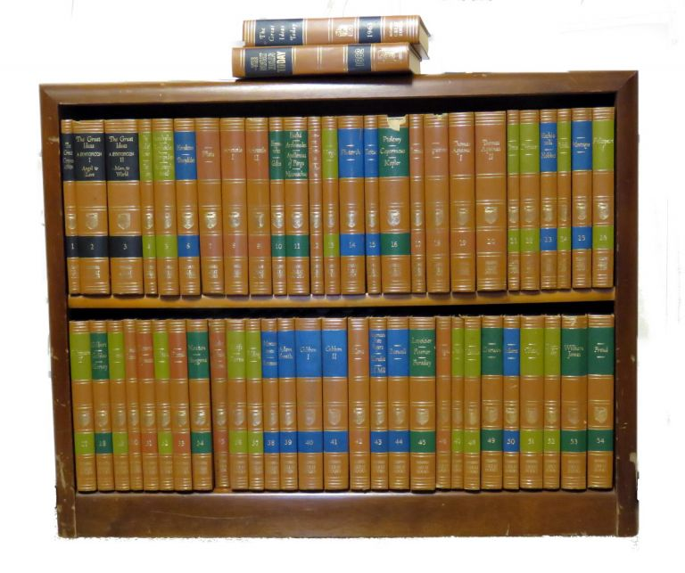 Great Books Of The Western World; Complete 54 Volumes. Robert Maynard Hutchins.