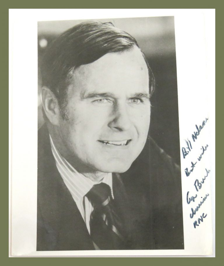 Photograph Inscribed. George H. W. Bush.