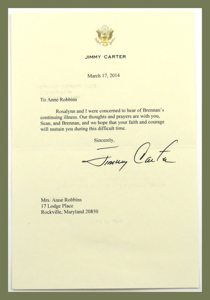 TLS plus associated ephemera. Jimmy Carter.