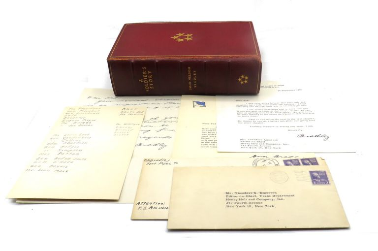 A Soldier's Story; Includes Three TLS and Two ALS and Transmittal Envelopes. Omar N. Bradley.