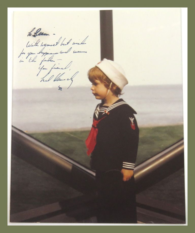 Photograph Inscribed. Ted Kennedy.