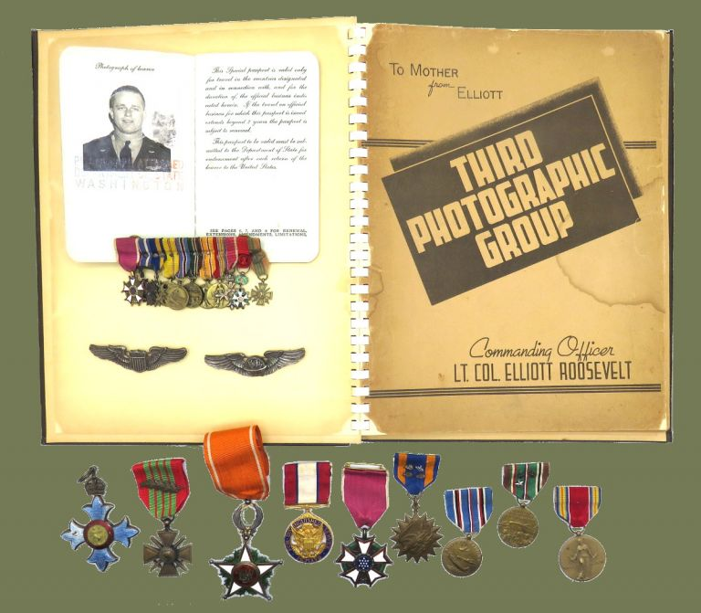 Third Photographic Group; Archive of Photographic and Personal Memorabilia. Lt. Col. Elliot Roosevelt.