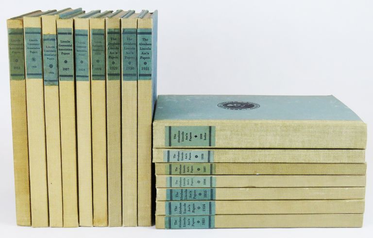 Abraham Lincoln Association Papers (16 Vols)