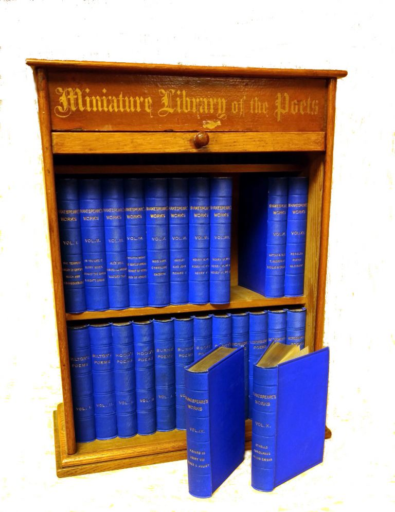 Miniature Library of the Poets. William Shakespeare, et. al.