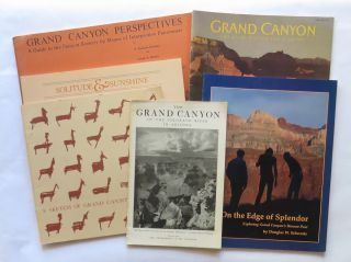 Six (6) Scholarly, Historic and Information Books and Pamphlet; The Grand Canyon