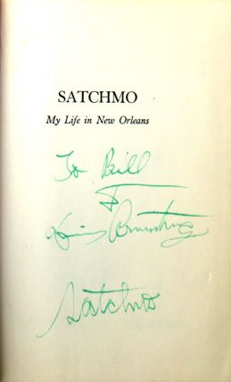 Satchmo; My Life in New Orleans