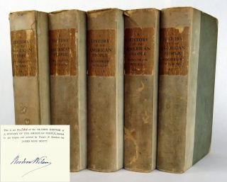 A History of the American People; In Five Volumes. Woodrow Wilson