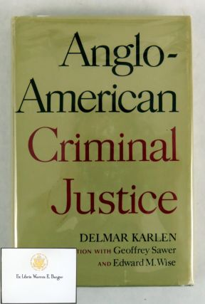 Anglo-American Criminal Justice