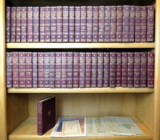 The Harvard Classics; 50 Volumes plus Lectures and Reading Guide. Charles W. Elliot, LLD.