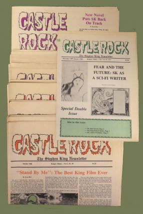 Castle Rock (26 Vols.); The Stephen King Newsletter