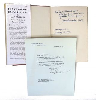 Typed Letter Signed / The Catoctin Conversation. Harry S. Truman