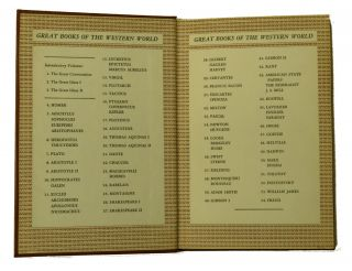 Great Books Of The Western World; Complete 54 Volumes