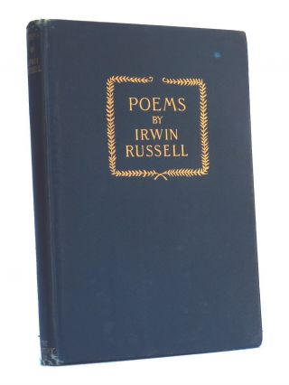 Poems. Irwin Russell