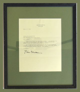 TLS and Framed. Bill Clinton.