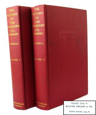 The History of The Standard Oil Company; 2 Vols