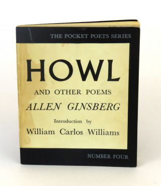 Howl and Other Poems; Introduction by William Carlos Williams. Allen Ginsberg.