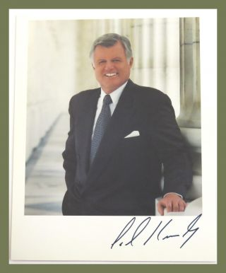 Photograph Signed. Ted Kennedy