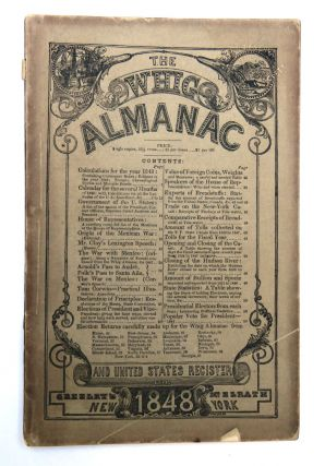 The Whig Almanac; And United States Register