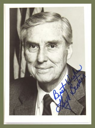 Photograph Signed. Lloyd Bentsen