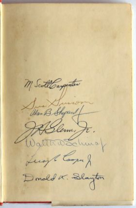 The Astronauts; Signed By All Seven Gemini Astronauts