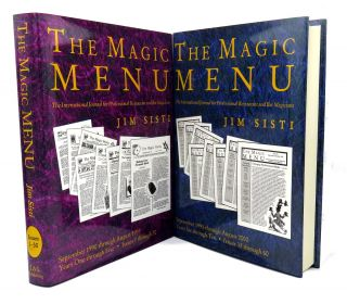 The Magic Menu; The International Journal For Professional Restaurant and Bar Magicians (Two...