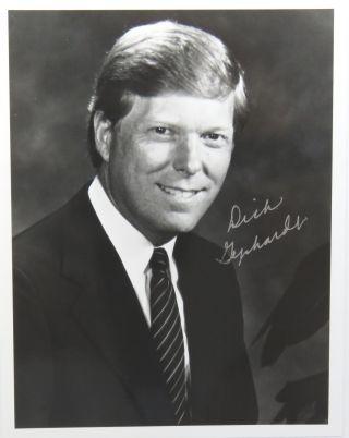 Photograph Signed. Richard Gephardt
