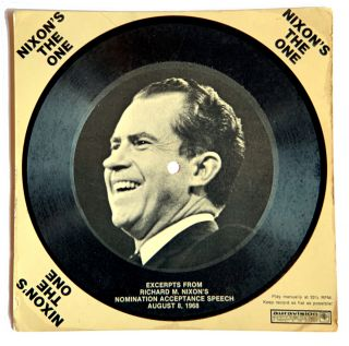 Nixon's The One; Excerpts from Richard M. Nixon's Nomination Acceptance Speech. Richard Nixon