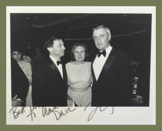 "Photograph Signed. Walter ""Fitz Mondale"