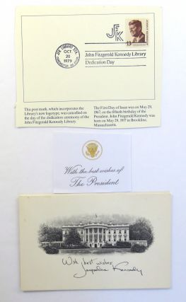 John Fitzgerald Kennedy Library, (with associated ephemera)