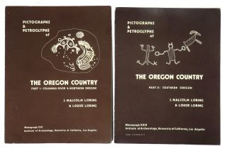 Pictographs & Petroglyphs of the Oregon Country; Part 1: Columbia River & Northern Oregon / Part...
