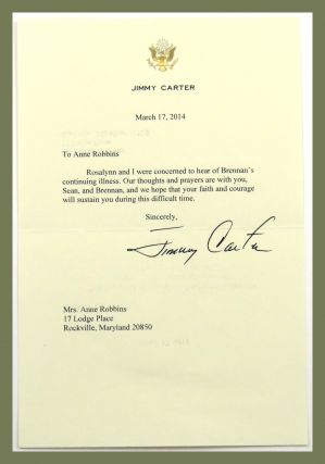 TLS plus associated ephemera. Jimmy Carter