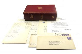 A Soldier's Story; Includes Three TLS and Two ALS and Transmittal Envelopes. Omar N. Bradley