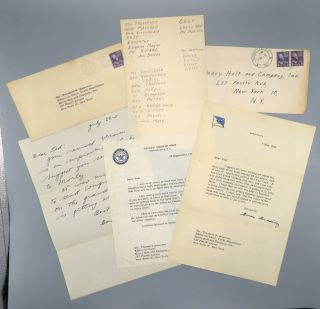 A Soldier's Story; Includes Three TLS and Two ALS and Transmittal Envelopes