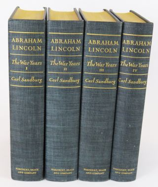 Abraham Lincoln - The War Years Volume 1 - 4. Carl Sandburg.