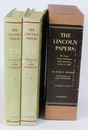 The Lincoln Papers, Vol. I & II. David C. Mearns, Carl Sandberg""
