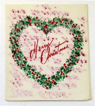 Autograph Note [Christmas Card] Signed. Mamie Eisenhower.
