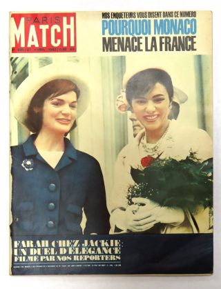 Paris Match. Jackie Kennedy.