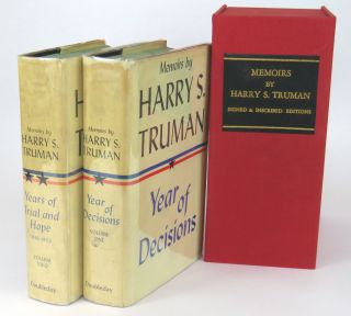 Memoirs; Years of Decision / Years of Trial and Hope 1946 - 1952. Harry S. Truman