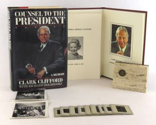 Counsel To The President, A Memoir; Including an archive of personal and professional papers and photographs. Clark Clifford, Richard Holbrooke.