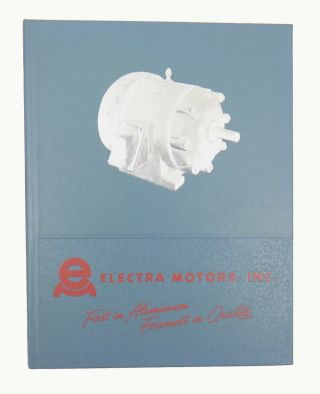 Electra Motors, Inc.; Condensed Catalog Number 4