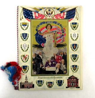 22 Pieces of Ephemera Associated with George Washington Bicentennial Celebration in the Yakima Valley